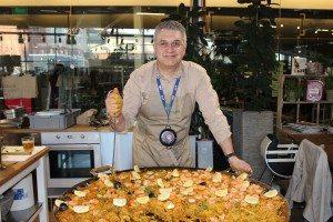 Paella-hos-green-matmarknad